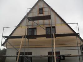 Fassadenverkelidung, Naturschiefer, Dachdeckerbetrieb Ingo Küster