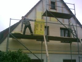 Fassadenverkleidung Wärmedämmung, Dachdeckerbetrieb Ingo Küster